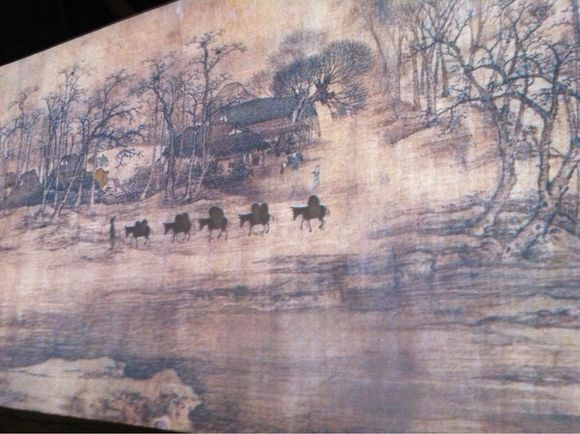 Moving Mural from China Pavilion in World Expo